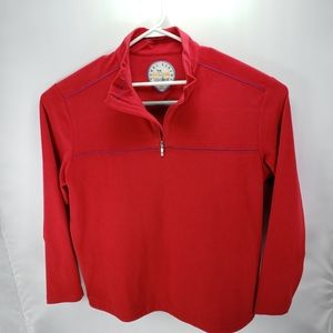 Men's Timmy Bahama 1/4 zip, size xl, A+ condition.